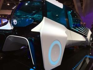 electric vehicle concept car